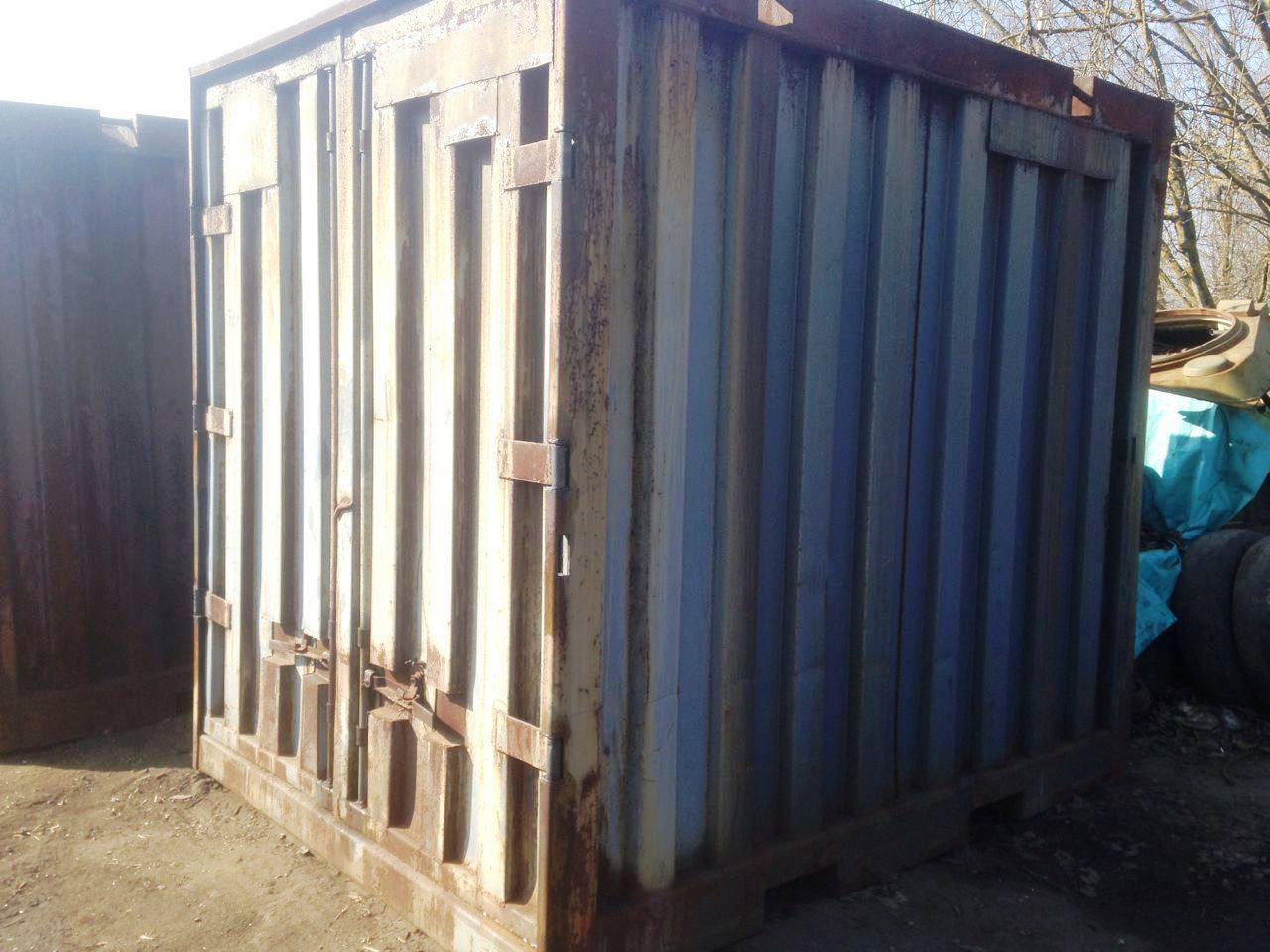 ЖД контейнеры БУ